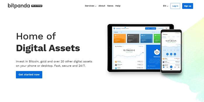 Bitpanda – Osta ja Myy suosituimpia kryptovaluuttoja