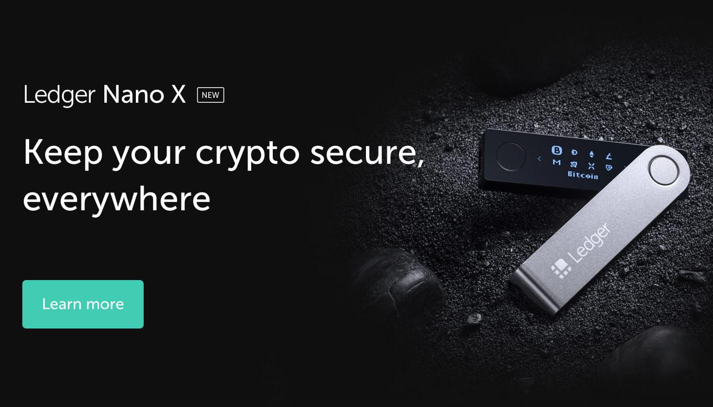 Hardware-lompakot Ledger Nano S ja Nano X